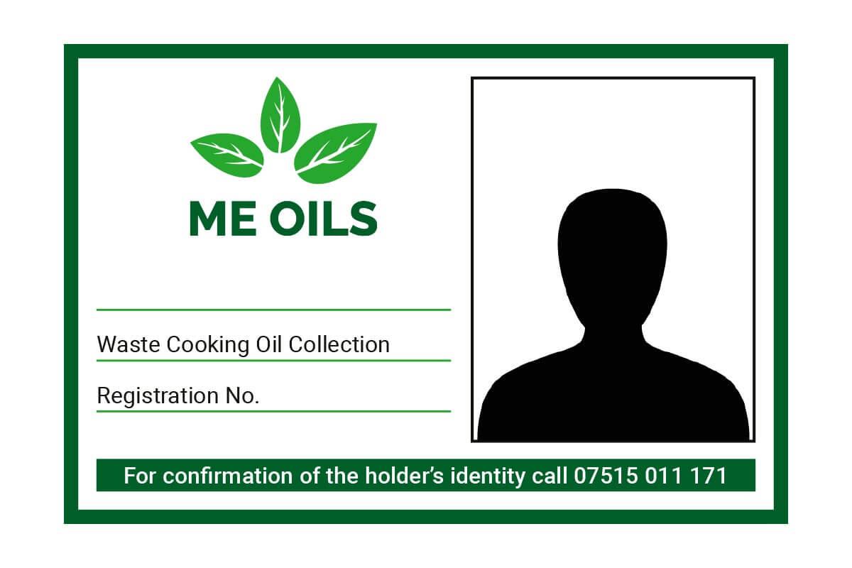 M.E Oils ID Badge